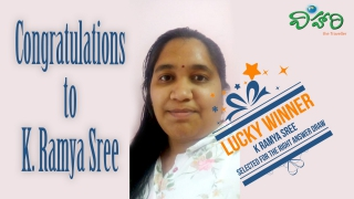 Lucky Winner for May 2019 Contest