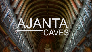 The splendid Ajanta caves are one of a kind as they are cut through rock