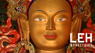 Thiksey Monastery,visit to know about Nirvana and Budha